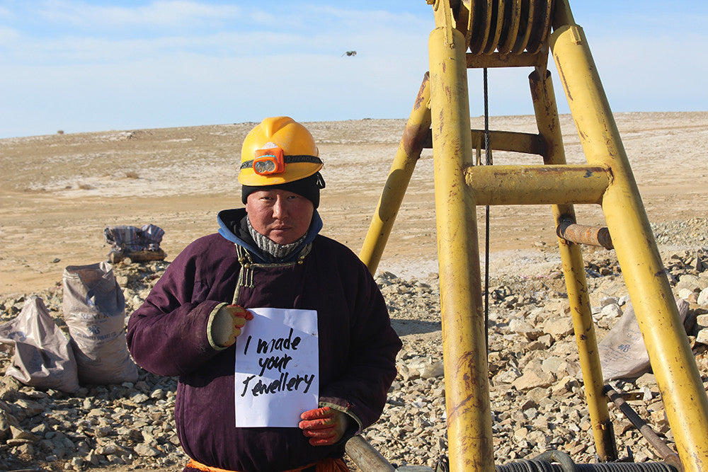 Arabel Lebrusan. Fairmined XAMODX mine in Mongolia