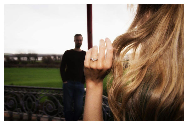 Arabel Lebrusan Engagement Ring Proposal Photo