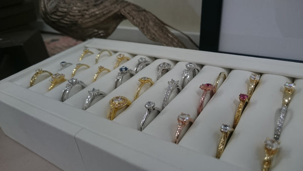 Arabel Lebrusan Sample Ring Collection