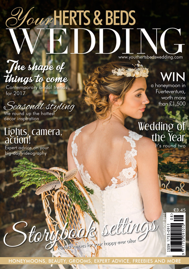 Arabel lebrusan press coverage Your hearts & Beds Wedding