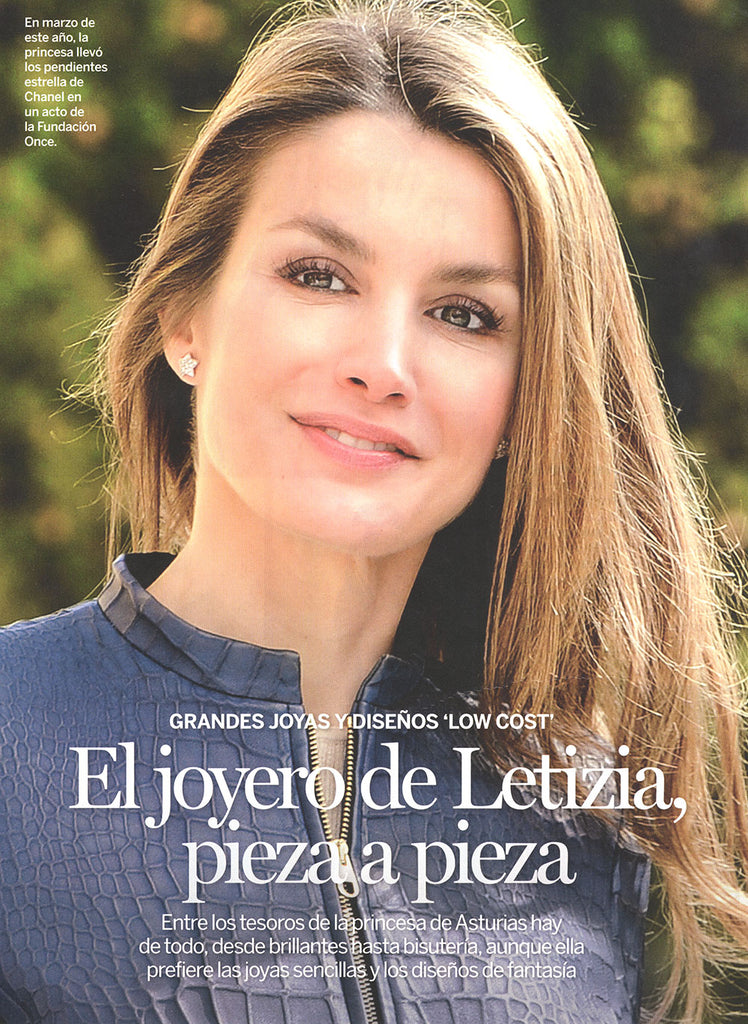 Princess Letizia of Spain wearing Arabel Lebrusan