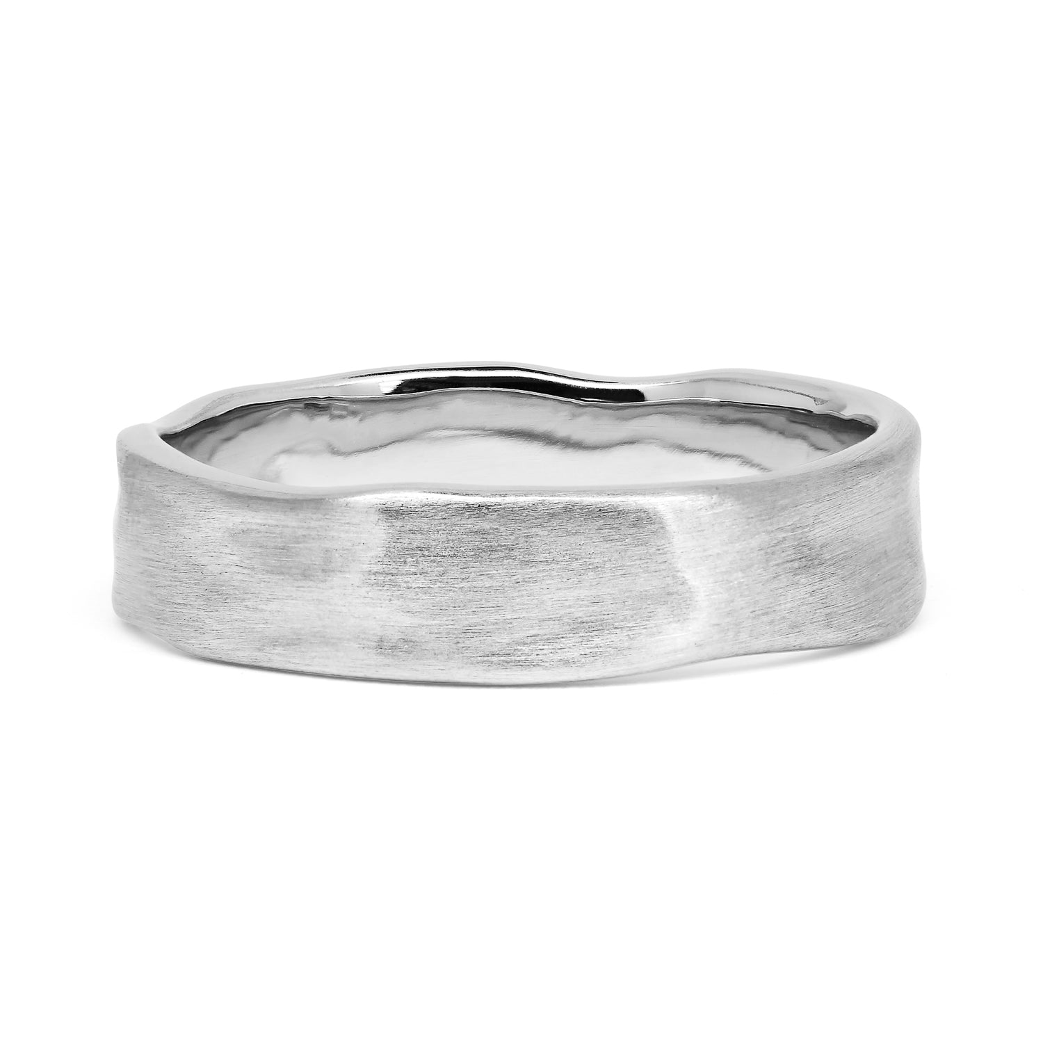Bespoke Daniel Organic Wedding Ring