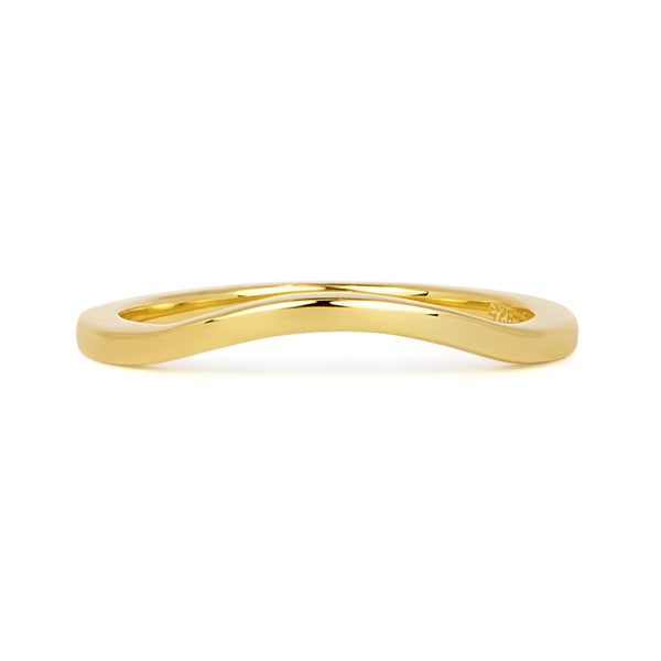 Accademia Ethical Wedding Ring, 18ct Fairtrade Gold