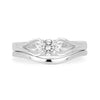 Accademia Ethical Wedding Ring, Platinum