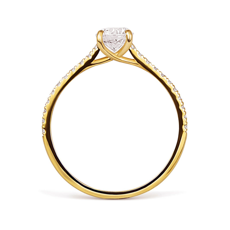 Altair Ethical Diamond Engagement Ring, 18ct Fairtrade Gold