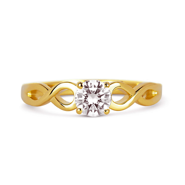 Rialto Ethical Diamond Engagement Ring, 18ct Fairtrade Gold