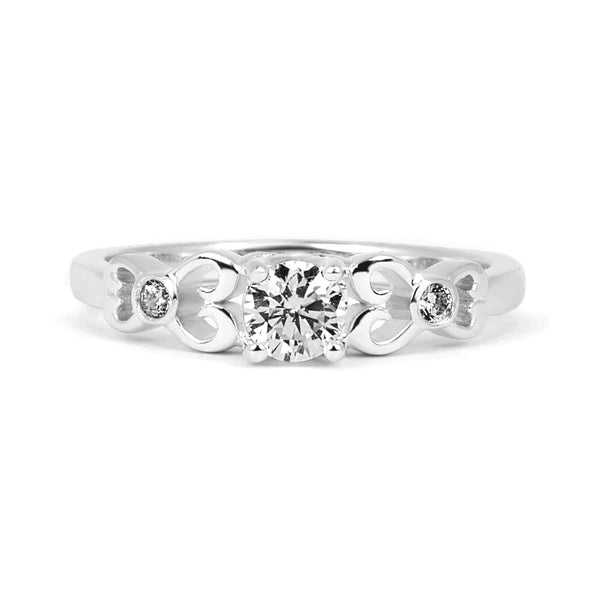 Venice Ethical Diamond Engagement Ring, Platinum