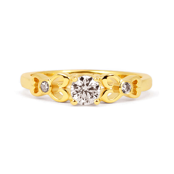 Venice Ethical Diamond Engagement Ring, 18ct Fairtrade Gold