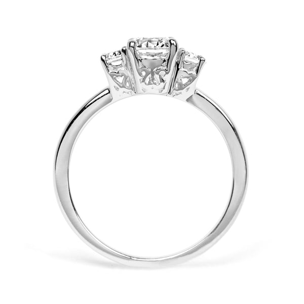 Aphrodite Ethical Diamond Platinum Engagement Ring - Arabel Lebrusan