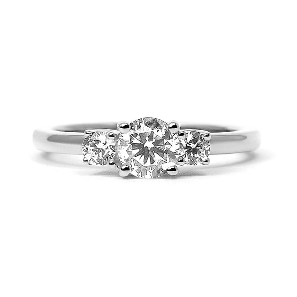 Aphrodite Ethical Diamond Platinum Engagement Ring