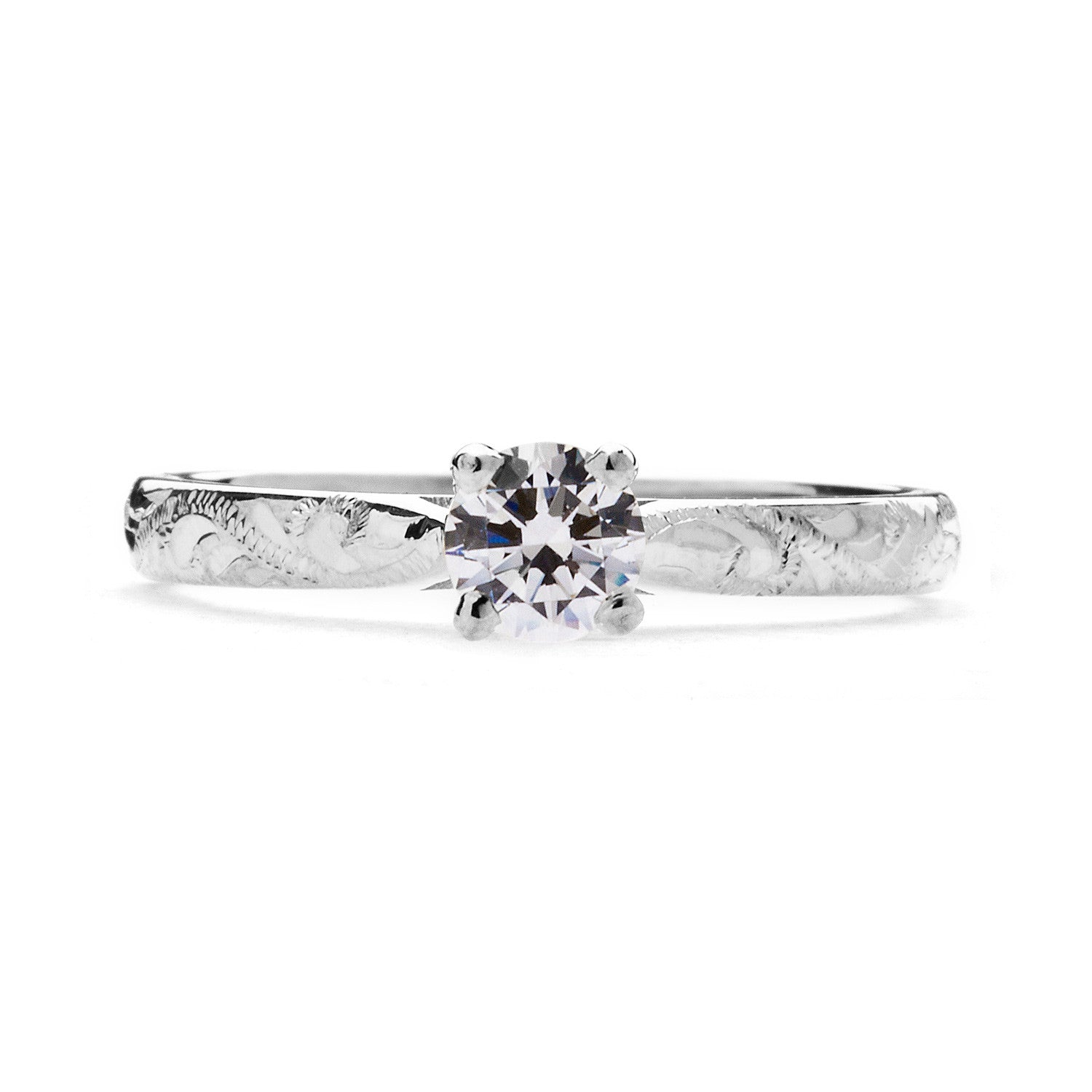 Athena Ethical Diamond Platinum Engagement Ring