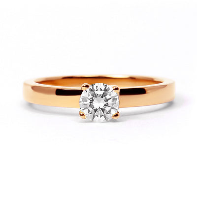 Aurora Ethical Diamond Engagement Ring, 18ct Fairtrade Gold