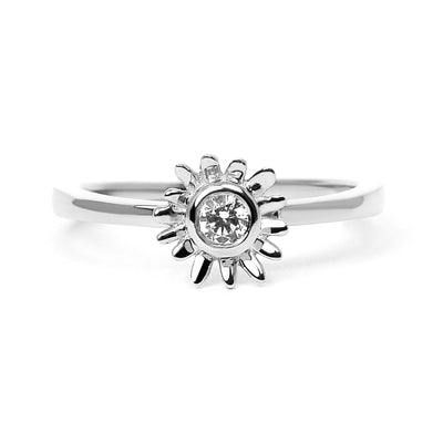 Bellis Ethical Diamond Recycled Platinum Engagement Ring