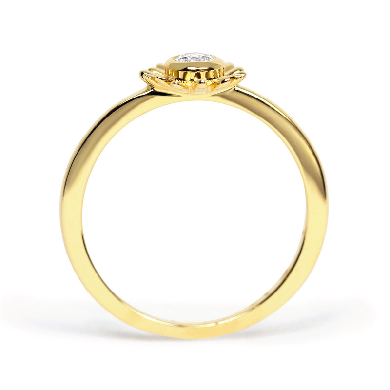 Bellis Ethical Diamond Engagement Ring, 18ct Fairtrade Gold