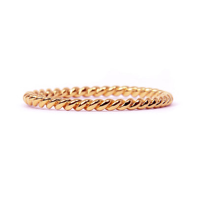 Braided Ethical Gold Wedding Ring, 18ct Ethical Gold 3