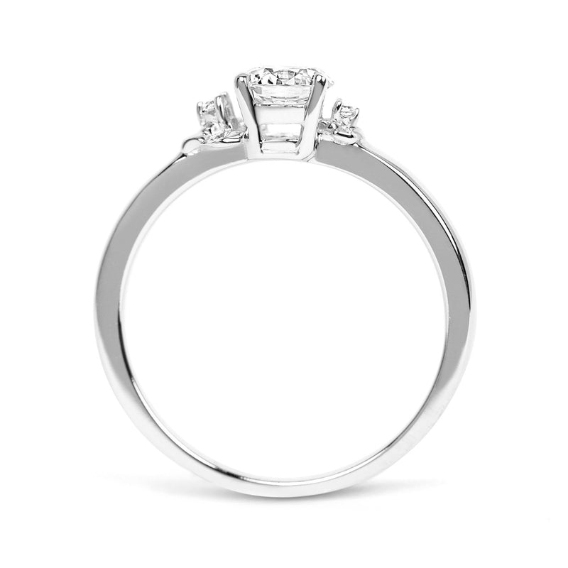 Cherry Blossom Ethical Diamond Platinum Engagement Ring - Arabel Lebrusan