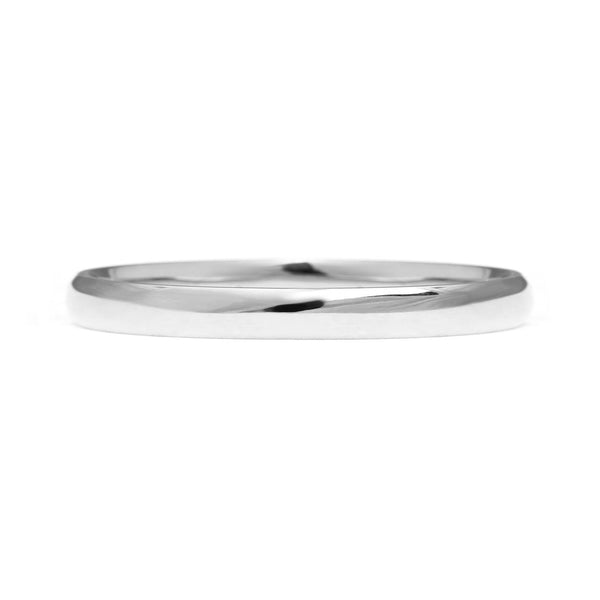 Court Ethical Platinum Wedding Ring 2mm