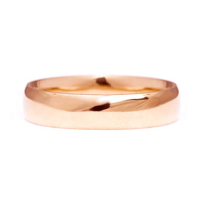 Court Ethical Gold Wedding Ring, Wide 6