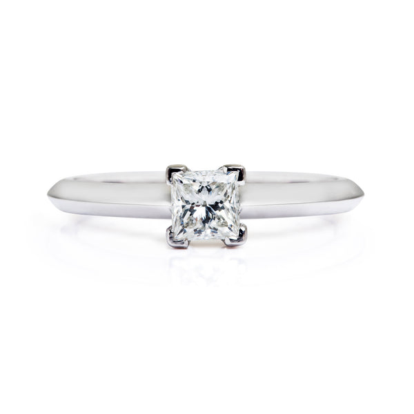 Diana Ethical Diamond Platinum Engagement Ring - Arabel Lebrusan