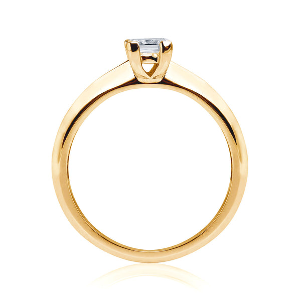 Diana Ethical Diamond Engagement Ring, 18ct Fairtrade Gold - Arabel Lebrusan