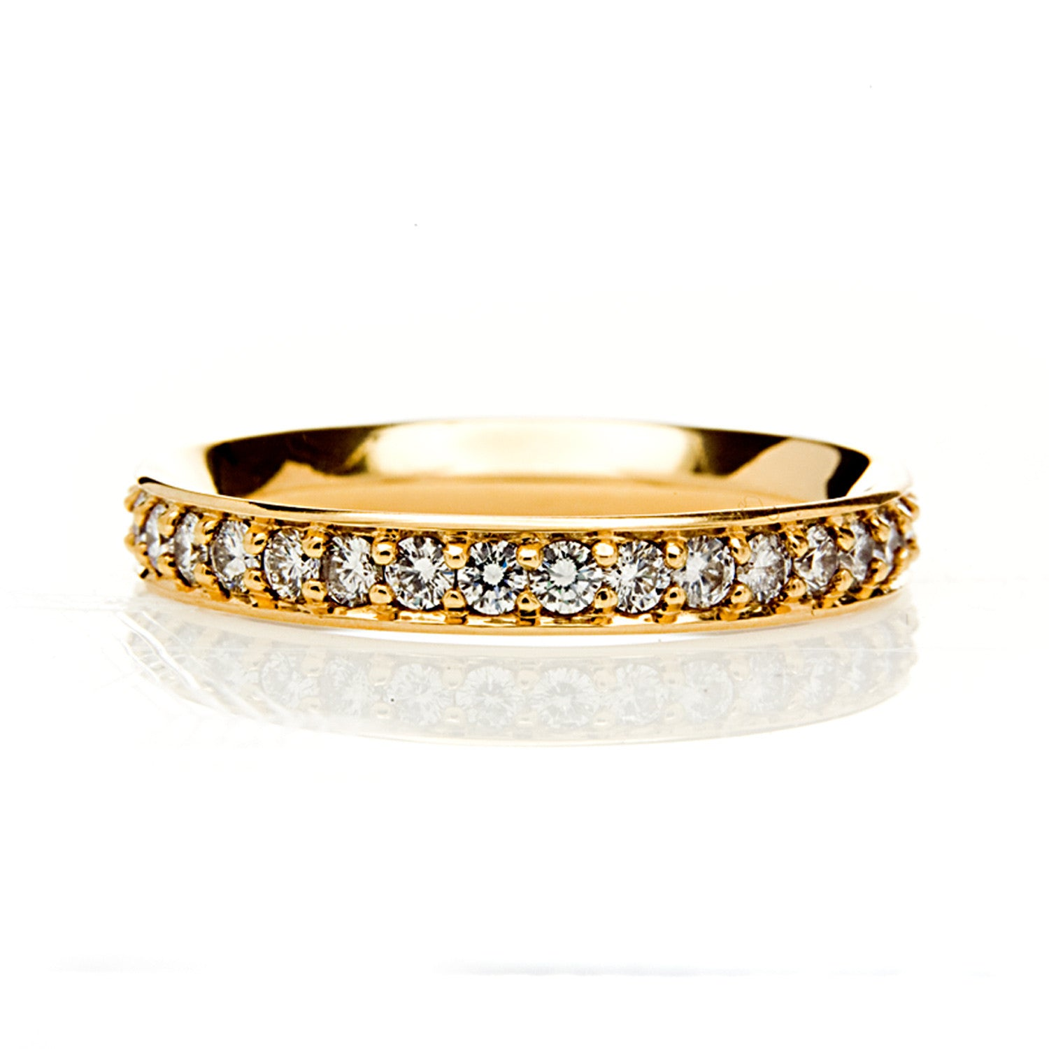 Eternal Full Diamond Ethical Gold Eternity Wedding Ring