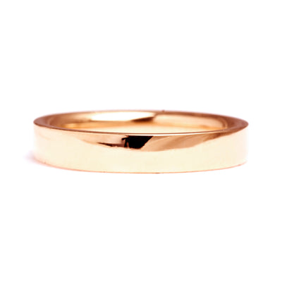 Flat Court Ethical Gold Wedding Ring, Medium 3