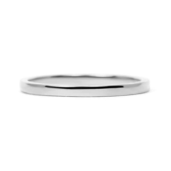 Harmony Ethical Flat Platinum Wedding Ring