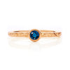 Hera Ethical Blue Sapphire Gemstone Engagement Ring, 18ct Ethical Gold