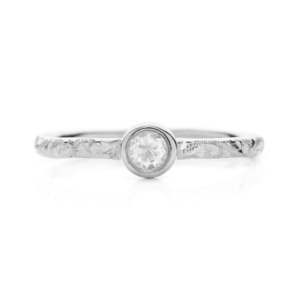 Hera Ethical Diamond Platinum Engagement Ring