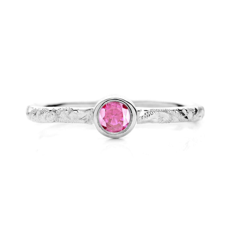 Hera Ethical Ruby Gemstone Engagement Ring, 18ct Ethical Gold