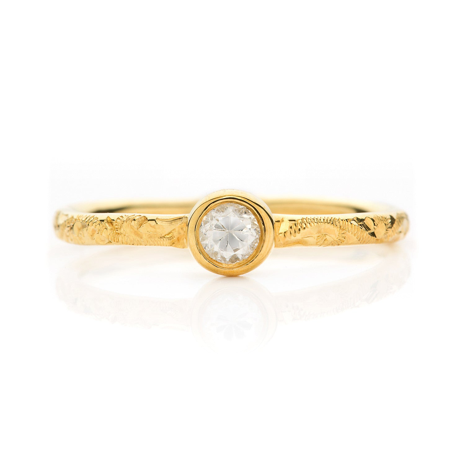 Hera Ethical Diamond Engagement Ring, Gold