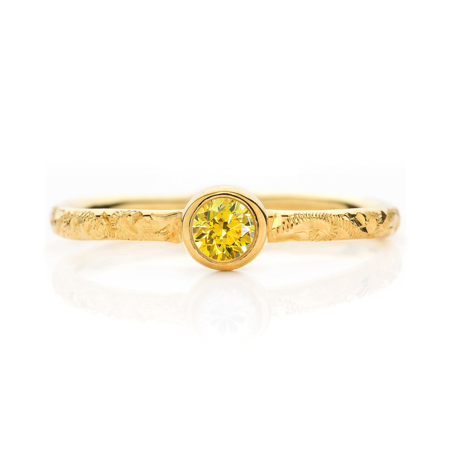 Hera Lab-grown Diamond Engagement Ring, 18ct Ethical Gold