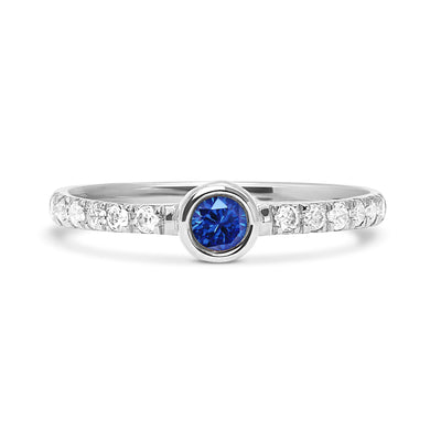 Hera Peacock Ethical Diamond Engagement Ring, 18ct Ethical Gold
