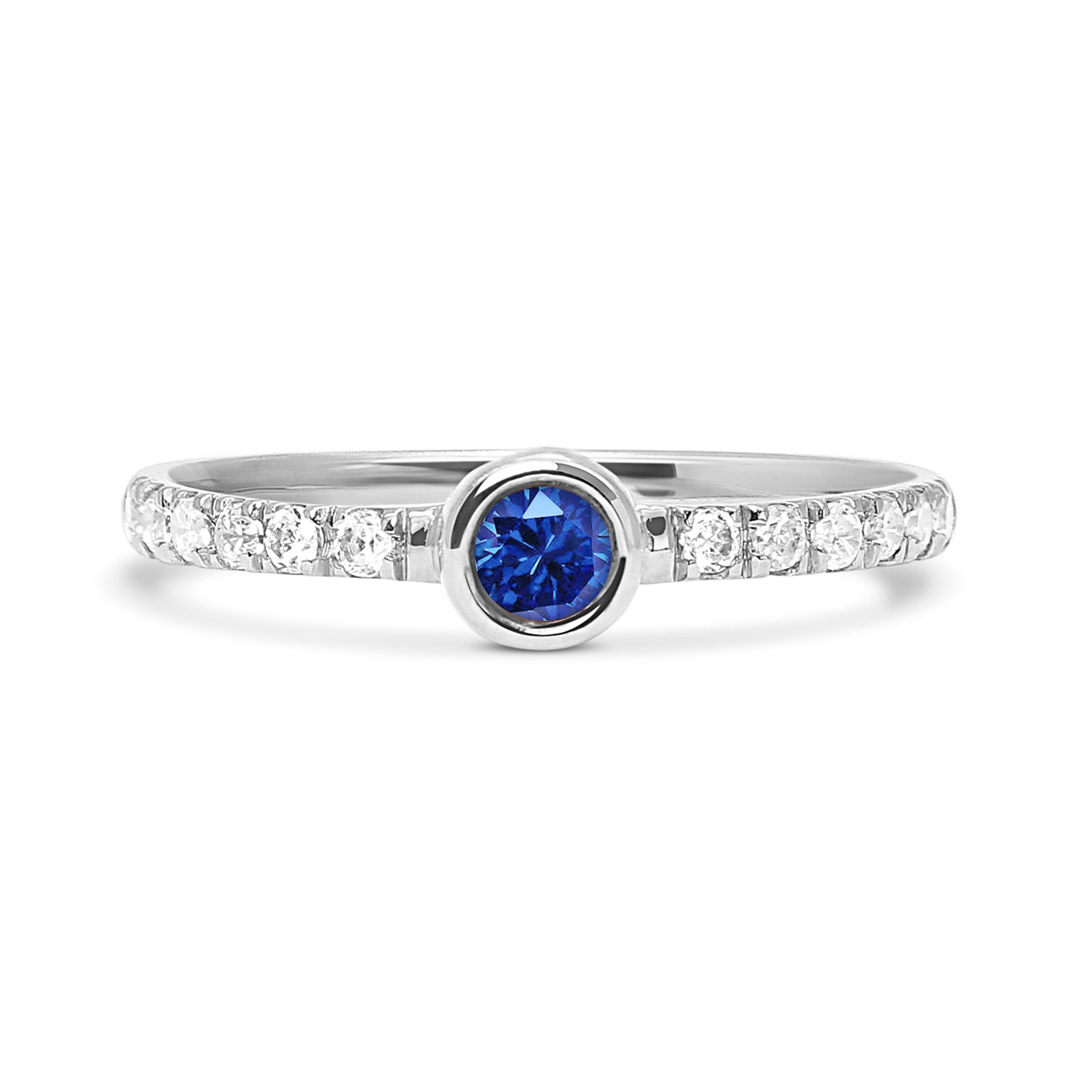 Hera Peacock Ethical Diamond Engagement Ring, Platinum