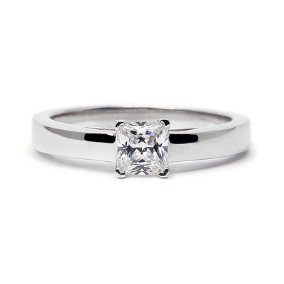 Nova Ethical Diamond Platinum Engagement Ring