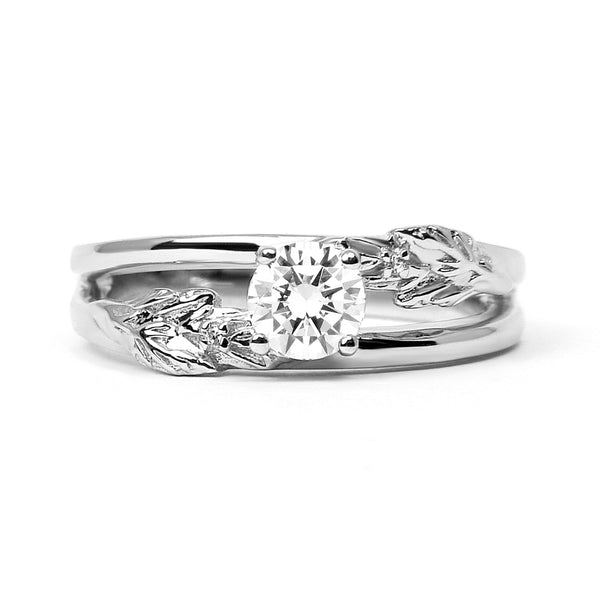 Royal Oak Ethical Diamond Platinum Engagement Ring