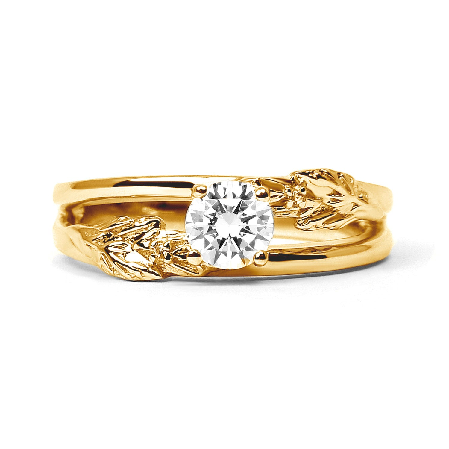 solitaire ethical wedding classic rings oro engagement gold the pin vow white vrai ring diamond