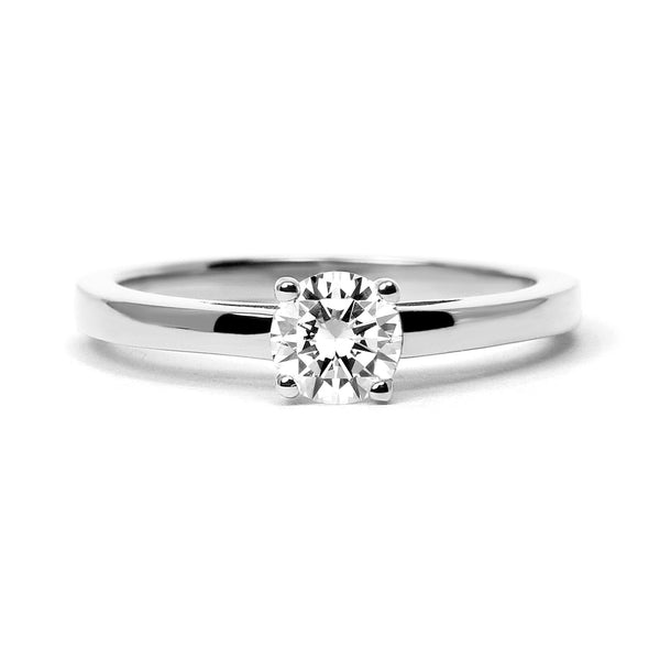 Solar Ethical Diamond Platinum Engagement Ring