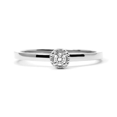 Serenity Ethical Diamond Platinum Engagement Ring