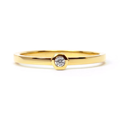 Tranquility Ethical Diamond Engagement Ring, 18ct Fairtrade Gold
