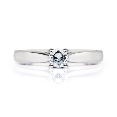Venus Ethical Diamond Platinum Engagement Ring