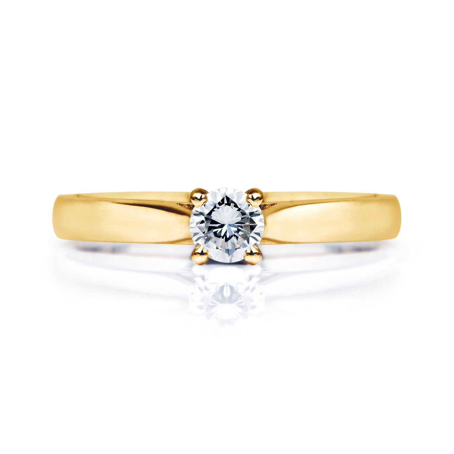 Venus Ethical Diamond Engagement Ring, 18ct Fairtrade Gold
