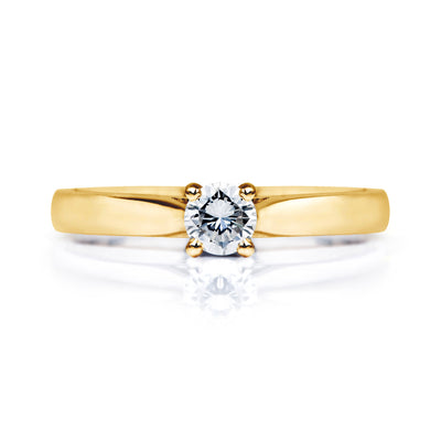Venus Ethical Diamond Gold Engagement Ring