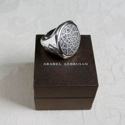 Bespoke Damascene Ring