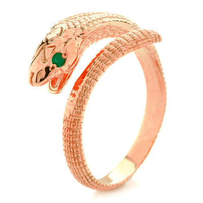 Cobra ring. Rose Gold - Arabel Lebrusan