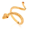 Anaconda ring. Yellow Gold - Arabel Lebrusan