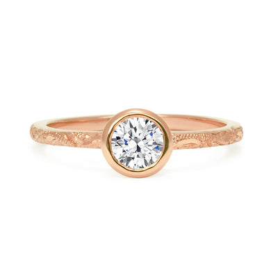 Hestia Ethical Diamond Engagement Ring, Gold