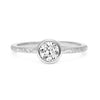 Hestia Ethical Diamond Engagement Ring, Platinum