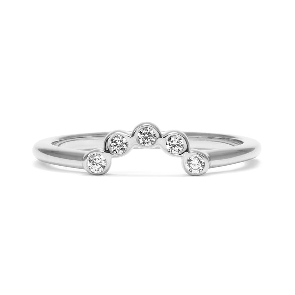 Diamond Coronet Ethical Ring, Platinum