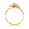 Marquise Diamond Diadem Ethical Ring, 18ct Ethical Gold 3